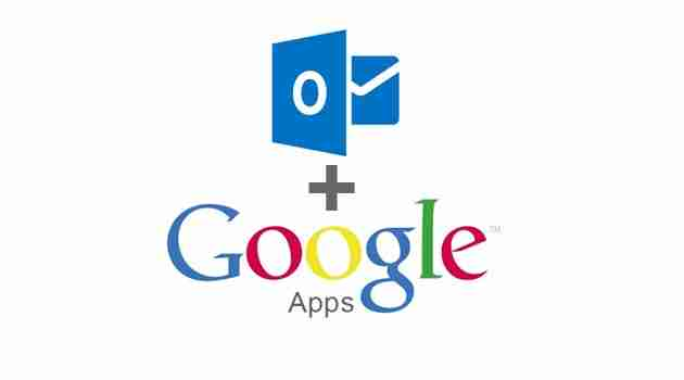 Google Apps con Outlook