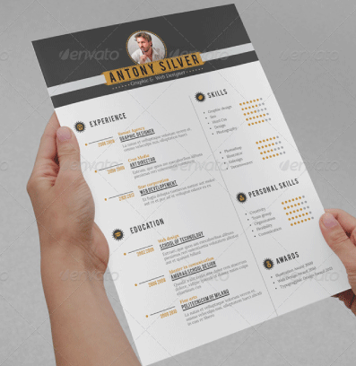 Professional-Resume-Retro