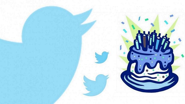 Twitter de aniverario