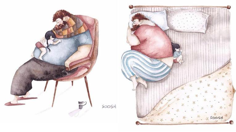 ilustraciones maternales