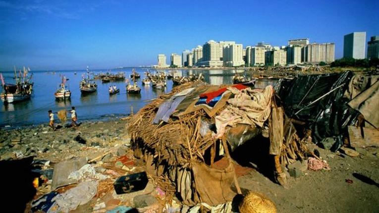 pobreza y riqueza en el mundo